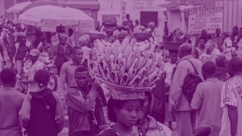 Congolese volksmarkt